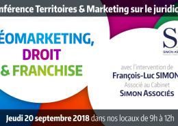 Conférence sur le juridique du 20 septembre 2018