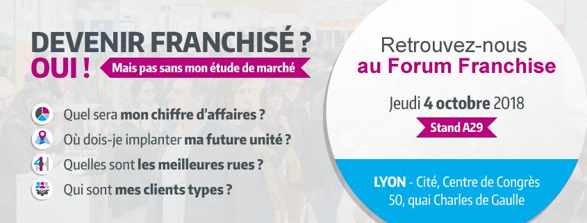 Salon Forum Franchise Lyon 2018