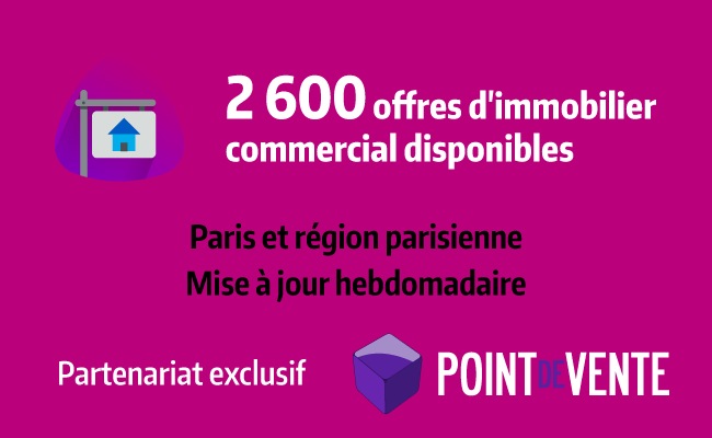 Conférence EasyRetail : Offres d'immobilier commercial disponible