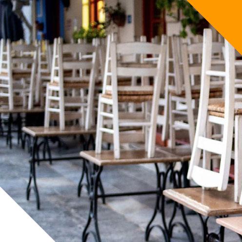 Covid-19 restaurant fermé