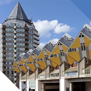 Rotterdam maisons Piet Blom