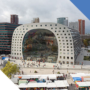 Rotterdam marché couvert Markthal