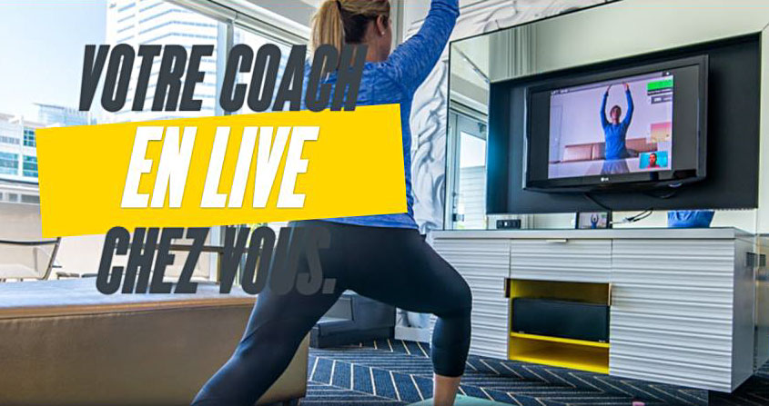 Fitness : votre coach en live chez vous