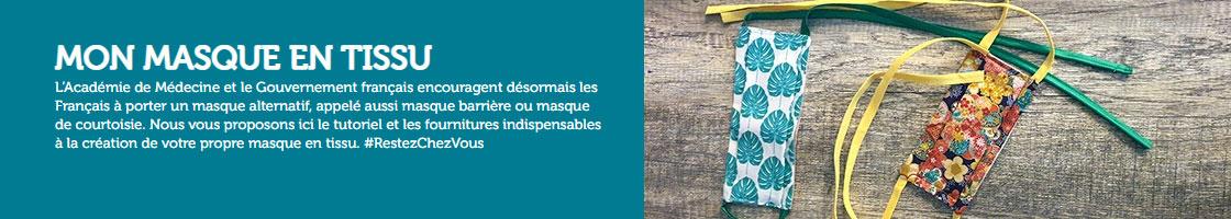 Mondial Tissu Covid19 masques
